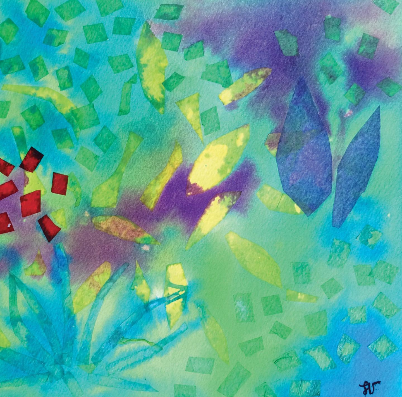Sandra Vigouroux - L'arbre aux feuilles d'or