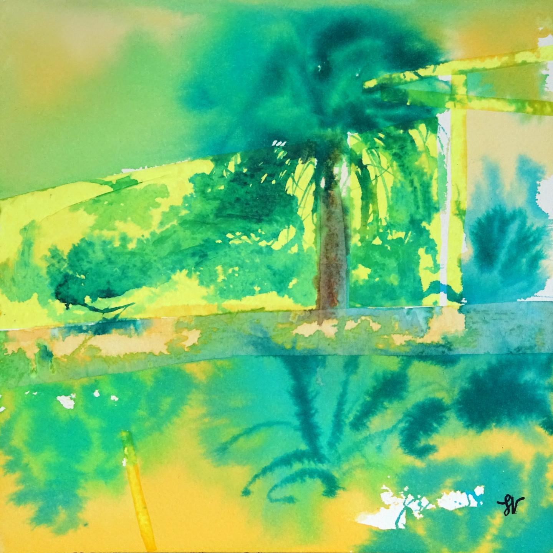 Sandra Vigouroux - Le palmier