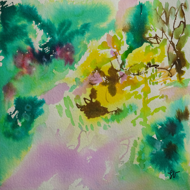 Sandra Vigouroux - abstraction