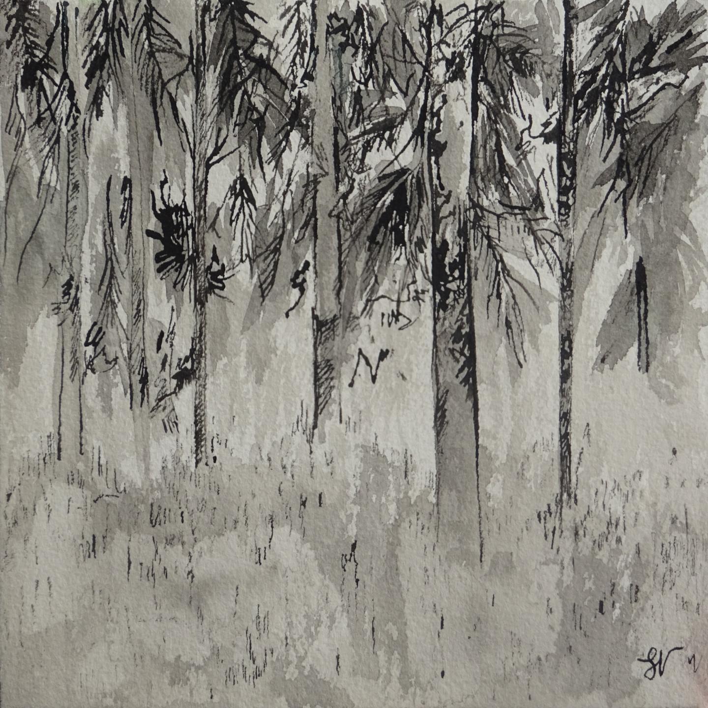 Sandra Vigouroux - Les pins