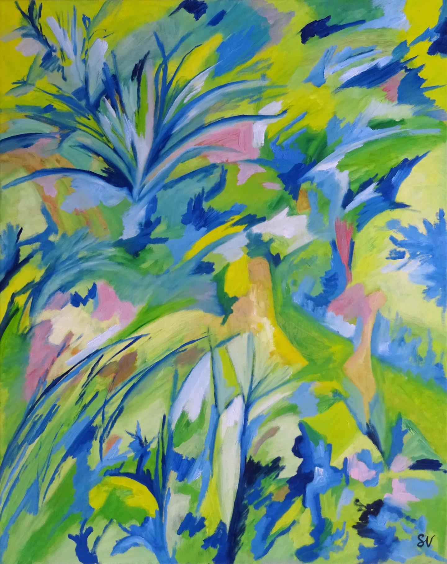 Sandra Vigouroux - Feuilles et plumes