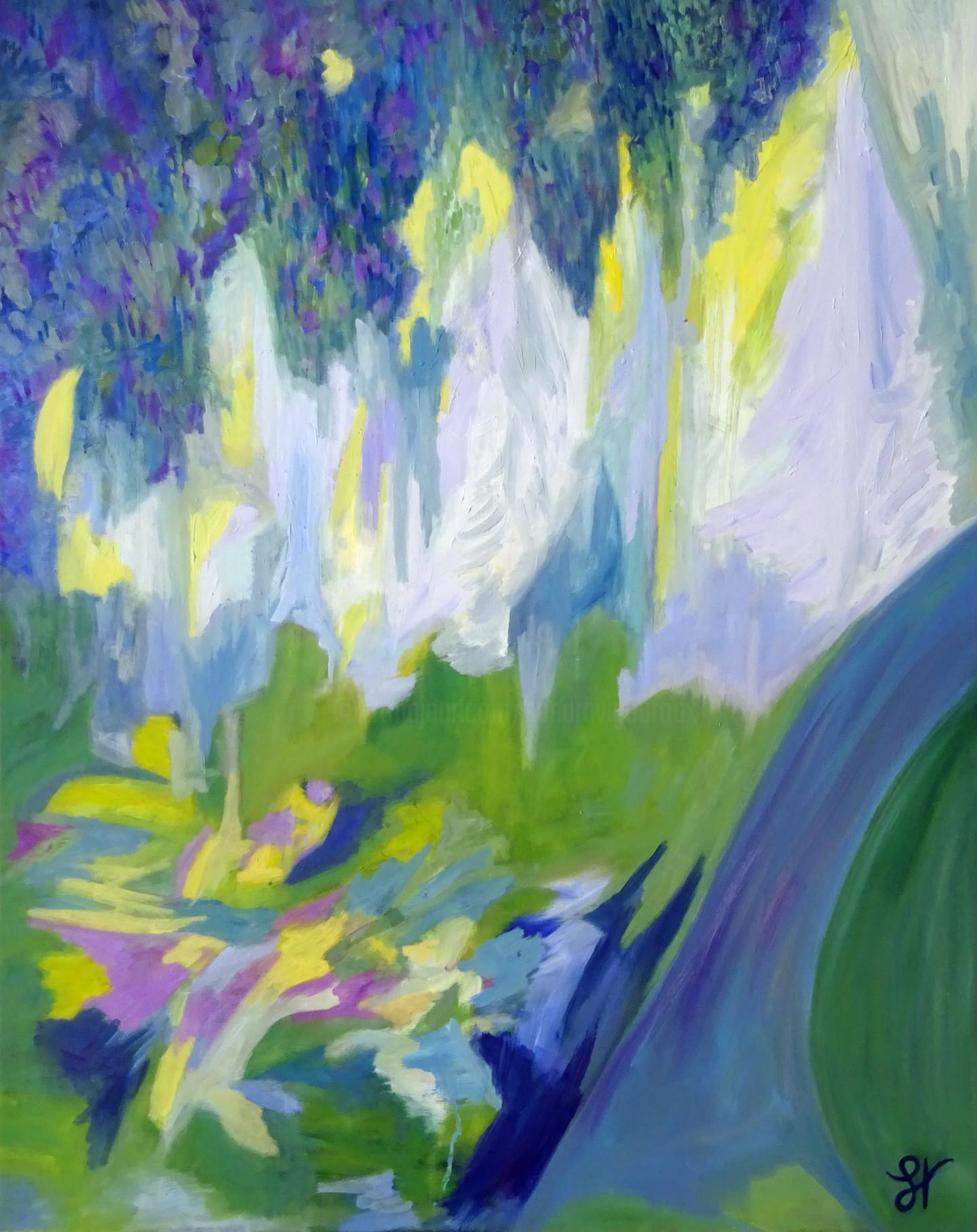 Sandra Vigouroux - La forêt bleue du jardin Albert Kahn